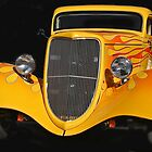 Yellow Classic-1934 Ford by heatherfriedman