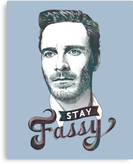 Stay Fassy (blue) by Logan Nottbohm
