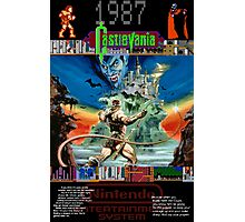 Castlevania 1987 Photographic Print