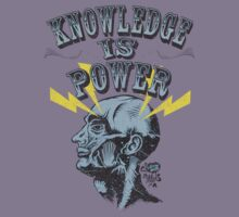 Knowledge is Power by deerokone