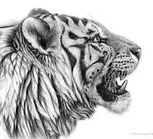 White Tiger profile g01 by schukina by schukinart