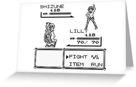 Katawa Shoujo Pokemon Battle by georgestow