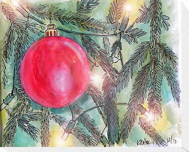 Christmas Tree Glow by Kristi Nobers