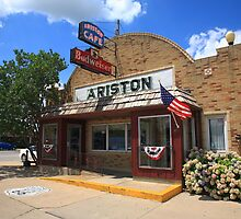 Route 66 - Ariston Cafe by Frank Romeo
