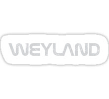If NASA Was Weyland Sticker