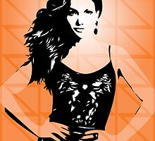 Jennifer Lopez - Dance Again - Pop Art by wcsmack