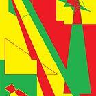 Look at those Rastafarian shapes :) by HuggieBear