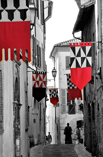 Medieval Festival-San Gemini, Italy by Deborah Downes