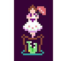 8-bit Haunted Mansion Ally Girl Photographic Print