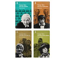 Doctor Who novels Penguin style Photographic Print