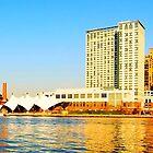 Baltimore Harbor Panorama by MsKimberly
