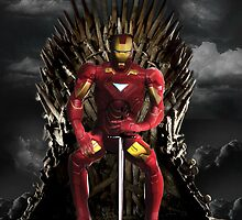 iron man - game of thrones -Iphone! by yossi rabinovich