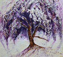 Happy Dance of Weeping Tree by Christiane  Kingsley