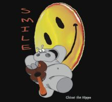 Chicot the Hippo and Smilie by Chicot