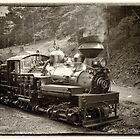 Train Engine by KellyHeaton