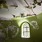 Peeling Green Room - Asylum by Tiffany Bailey