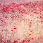 fields of poppies by guidomonta