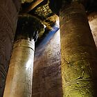 Columns in the temple of Horus by Siegeworks .