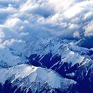 New Zealand Alps ~ a bird's eye view by Jan Stead JEMproductions