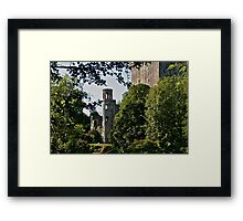 Keepers Watch Tower and Blarney Castle, County Cork, Ireland Framed Print