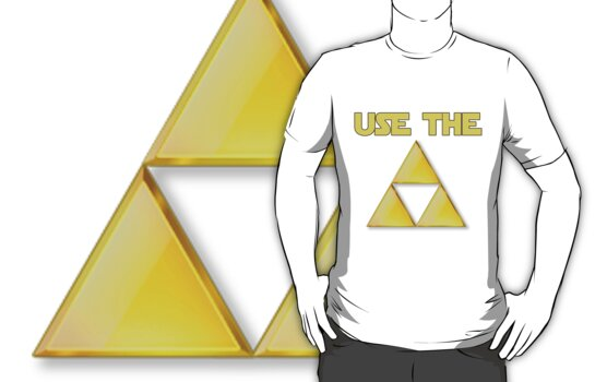 Use the Tri-Force T-shirt by Gqualizza