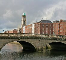 O'Connell Bridge (or Carlisle Bridge), Dublin, Ireland by Mary Fox