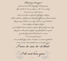 To A Stranger by Noelle Gravlee