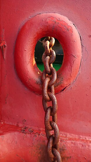 Rusty Chain by Madeleine Forsberg