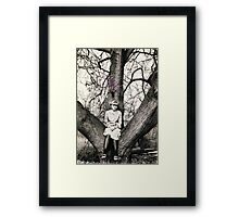 Once upon a time..... Framed Print