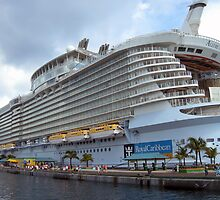 Allure of the Seas - Nassau, Bahamas  by John  Kapusta
