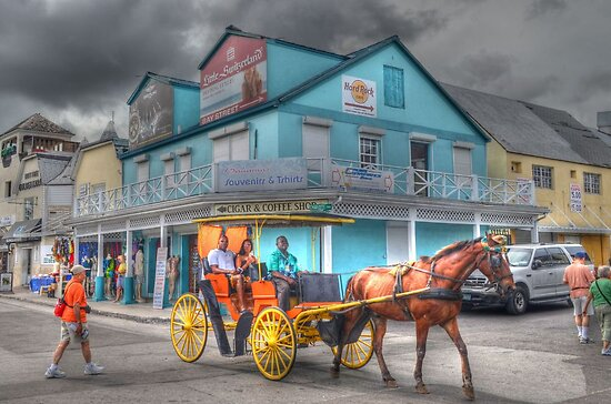 A little ride in Nassau, The Bahamas... by 242Digital