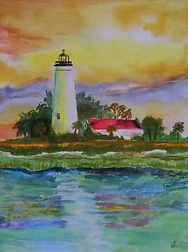 ST.Marks Lighthouse 2 by Warren  Thompson