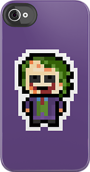 Pixel Joker (The Dark Knight Trilogy) by PixelBlock