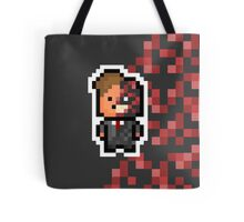 Pixel Harvey Dent / Two Face (The Dark Knight Trilogy) Tote Bag