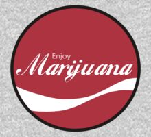 Enjoy Marijuana - Round by HighDesign