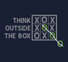 Think Outside the Box (White) Kids Clothes
