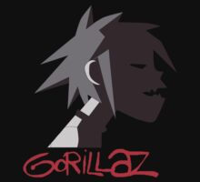 Gorillaz Tee by TooManyPixels