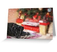 Waiting for Santa...... Greeting Card