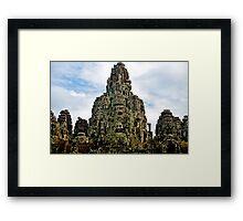 Bayan Temple - Cambodia Framed Print