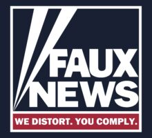 Faux News - transparent (originally blue) Background by portispolitics