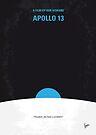 No151 My Apollo 13 minimal movie poster by Chungkong