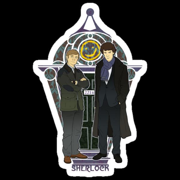Sherlock Nouveau by KatArtDesigns