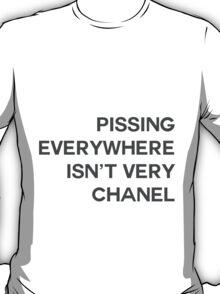 PISSING CHANEL T-Shirt