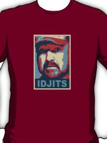 Bobby Singer: Idjits! (Supernatural) T-Shirt