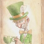 Mad Hatter by elykpaint