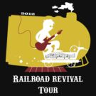 Railroad Revival Tee by Laura Ewing Ferrer