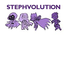 STEPHVOLUTION by geekdonnatroy