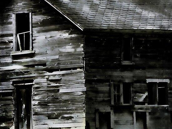 Scarey old barn by vigor