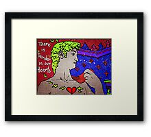 """There Is Thunder In Our Hearts"""" Framed Print"""
