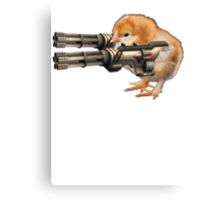 Guns Up Baby! Canvas Print